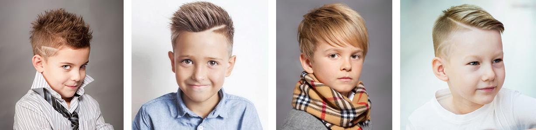 Примеры стрижки для мальчиков